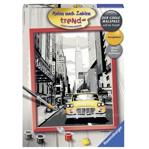 Ravensburger - Рисуване по номера 12+ Ню Йорк 7028443