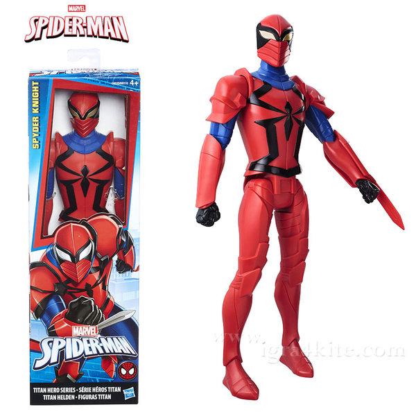 Hasbro - Spider Man Екшън фигура 30см Spyder Knight b9710