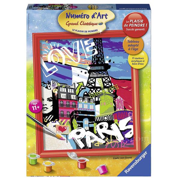 Ravensburger - Рисуване по номера 11+ Париж 7028435