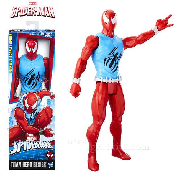 Hasbro - Spider Man Екшън фигура 30см Scarlet Spider b9710