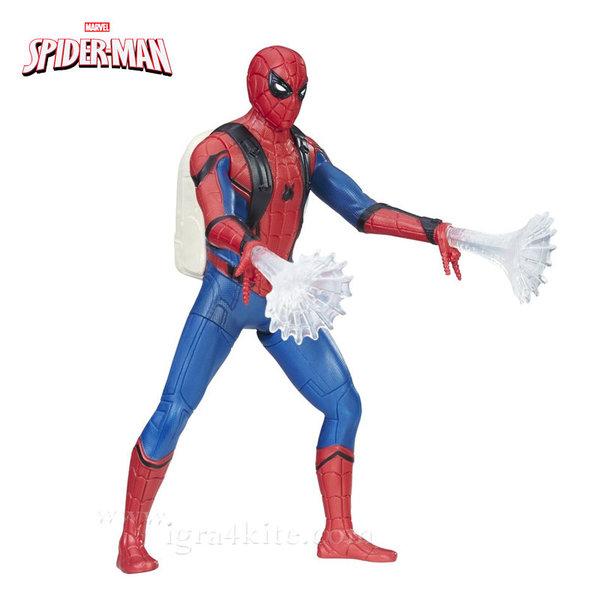 Hasbro - Spider Man Екшън фигура 15см Spider-Man със светлинни ефекти b9765