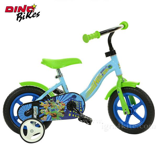 """Dino Bikes TMNT - Детско колело 10"""" Костенурките нинджа 117557"""