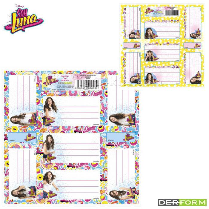 483bf2ee22a Disney Soy Luna - Ученически етикети Сой Луна 48670 - Детски играчки ...