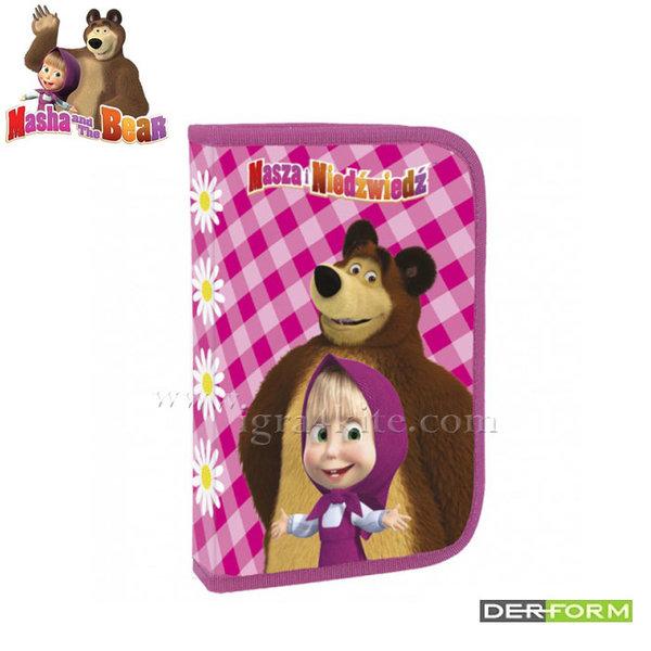 Masha and the Bear - Ученически несесер зареден Маша и мечока 50604