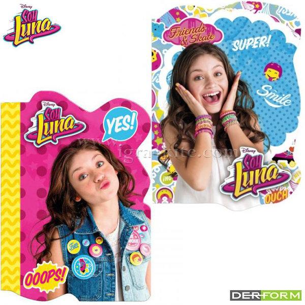 Disney Soy Luna - Бележник А6 цветни листи Сой Луна 47116