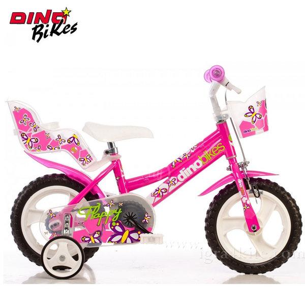 """Dino Bikes - Детско колело Fuxia 12"""" 117545"""