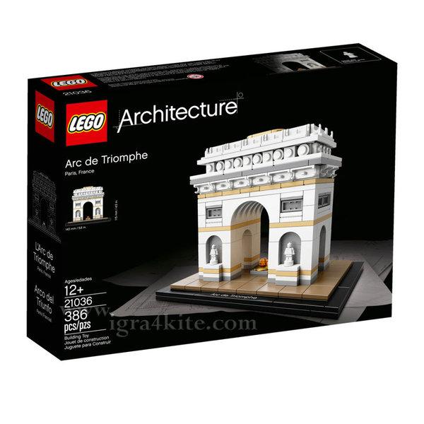 Lego 21036 Архитектура - Триумфалната арка
