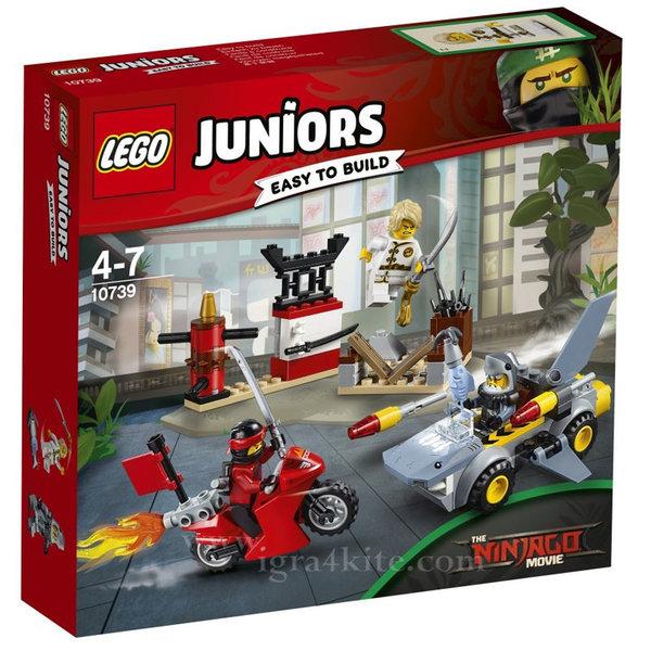 Lego 10739 Juniors Ninjago - Нападение на акула