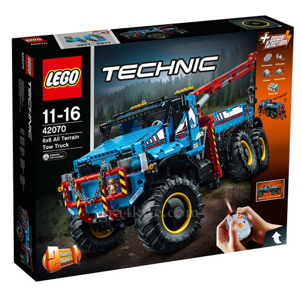 Lego 42070 Technic - Влекач всъдеход 6x6