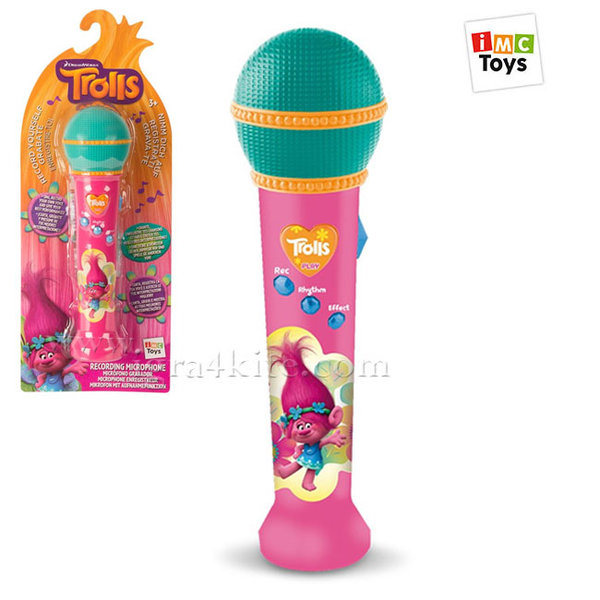 IMC Toys - Trolls Детски микрофон Тролчета 235021