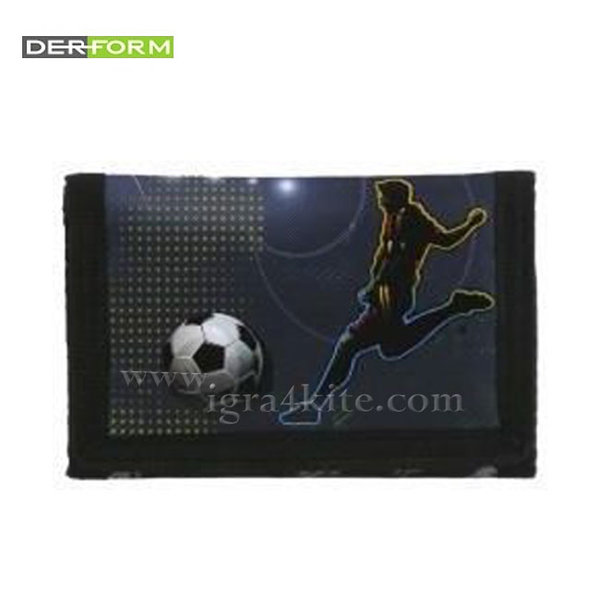 Derform Football - Детско портмоне Футбол 51045