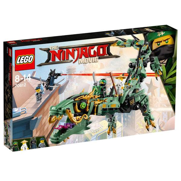 Лего 70612 Нинджаго - Робо-дракон на зеления нинджа