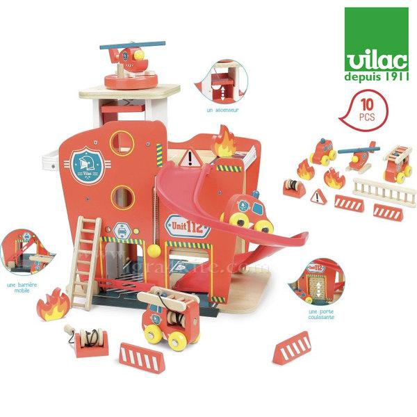 Vilac - Дървена пожарна станция 2359