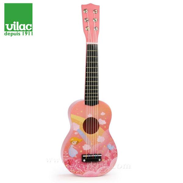 Vilac - Детска дървена китара Rainbow 8345