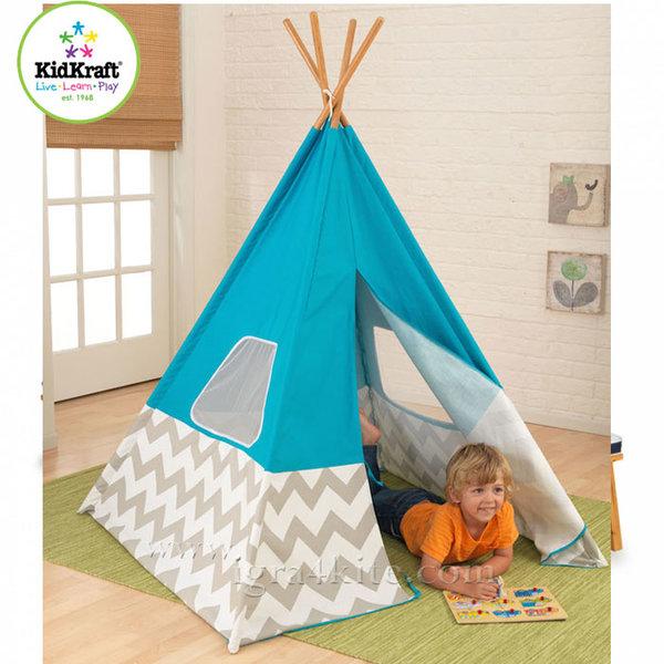 KidKraft - Детска палатка Deluxe Turquoise 00223