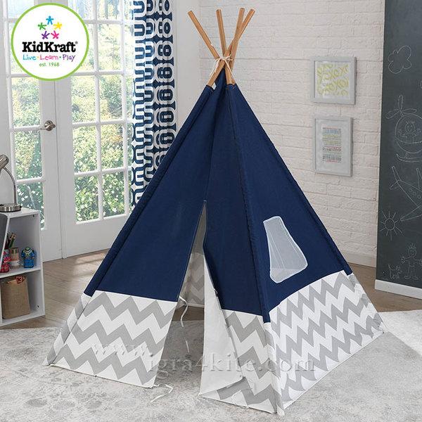 KidKraft - Детска палатка Deluxe Navy 00228