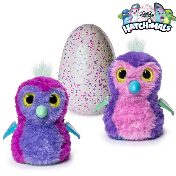 Hatchimals - Интерактивнo Пингвинче Бляскава Пингвала 6037399