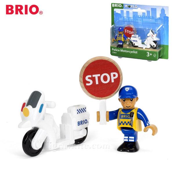 Brio - Полицай с мотор 33861