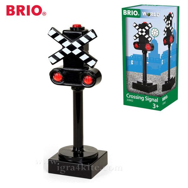 Brio - Играчка Семафор със светлинни ефекти 33862