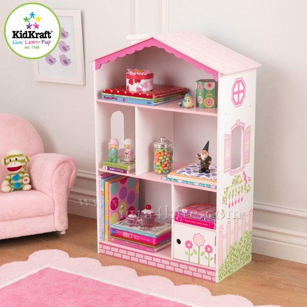 KidKraft - Детска дървена библиотека Принцеса 14604