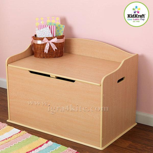 KidKraft - Детски дървен сандък за играчки Остин 14953