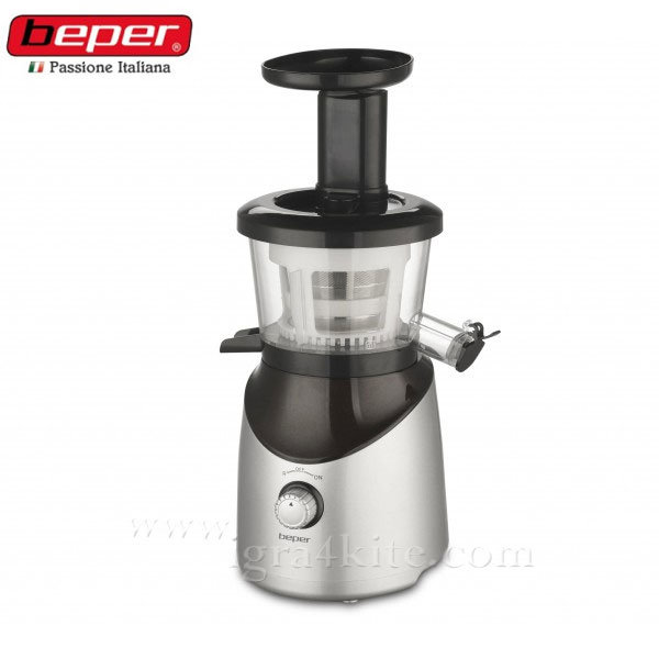 Beper - Сокоизтисквачка 150W Slow Juicer 90.421