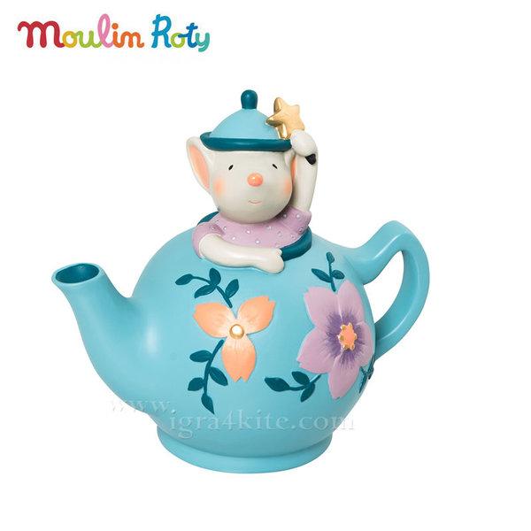 Moulin Roty - Детска касичка Мишле в чайниче 664170