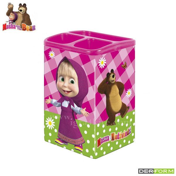 Masha and the Bear - Моливник за бюро Маша и мечока 52516