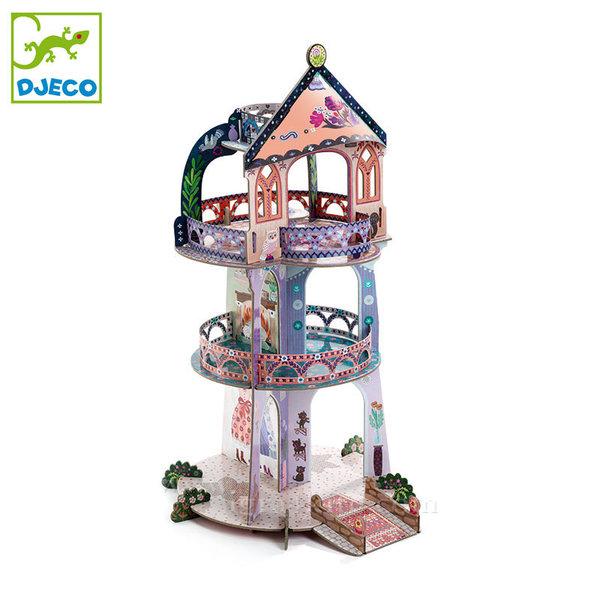 Djeco - Кула на чудесата от картон 3D dj07712
