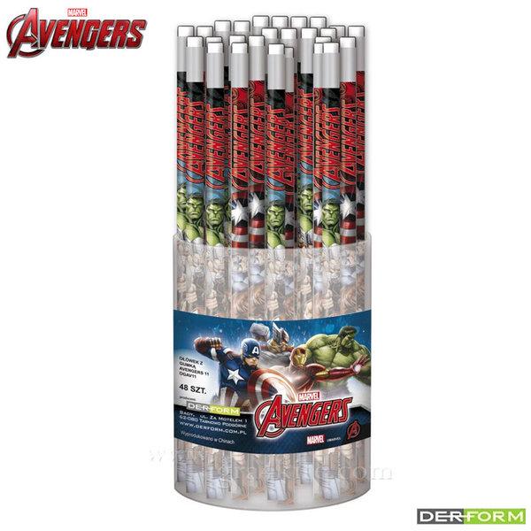 Marvel Avengers - Молив с гума Отмъстителите 46713