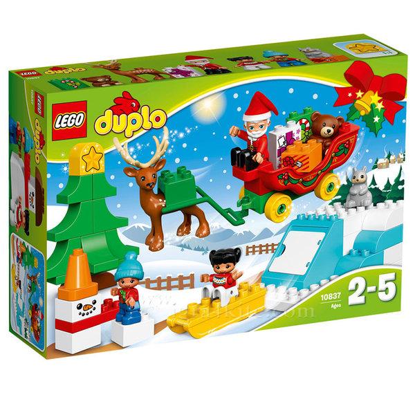 Lego 10837 Duplo - Зимната ваканция на Дядо Коледа