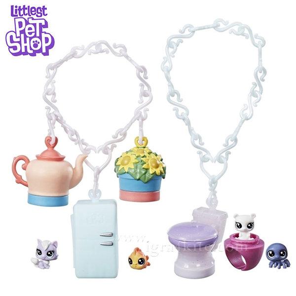 Littlest Pet Shop - Комплект малки домашни любимци Homebound Bling B9345