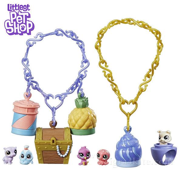 Littlest Pet Shop - Комплект малки домашни любимци Tropical Treasures B9345