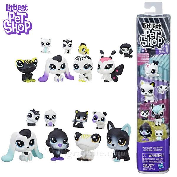Littlest Pet Shop - Комплект малки домашни любимци Black & White c1847