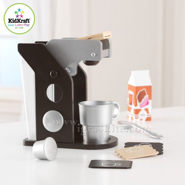 KidKraft - Детска кафемашина Espresso 63379