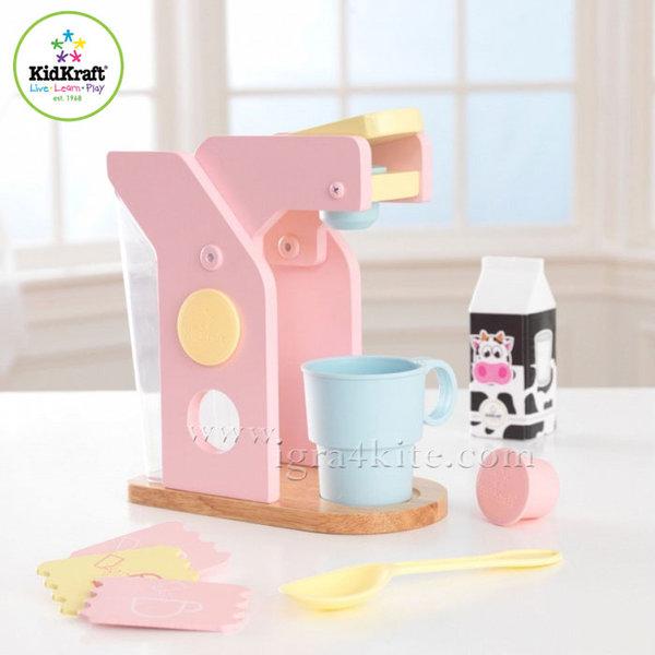 KidKraft - Детска кафемашина Espresso Pastel 63380