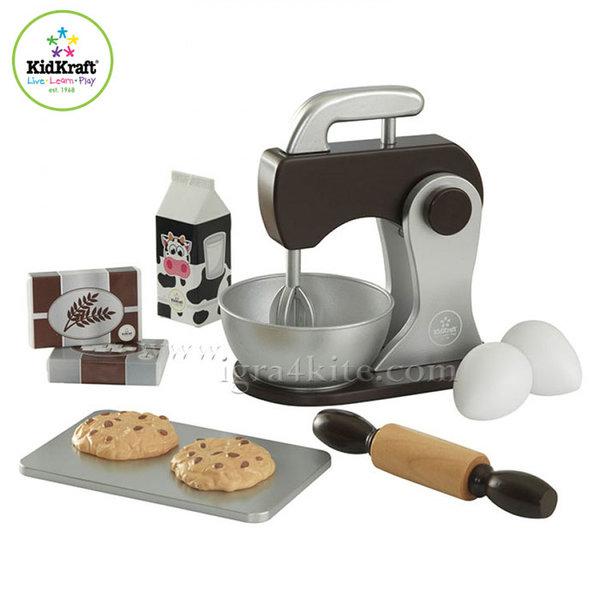 KidKraft - Детски комплект за печене Espresso 63370