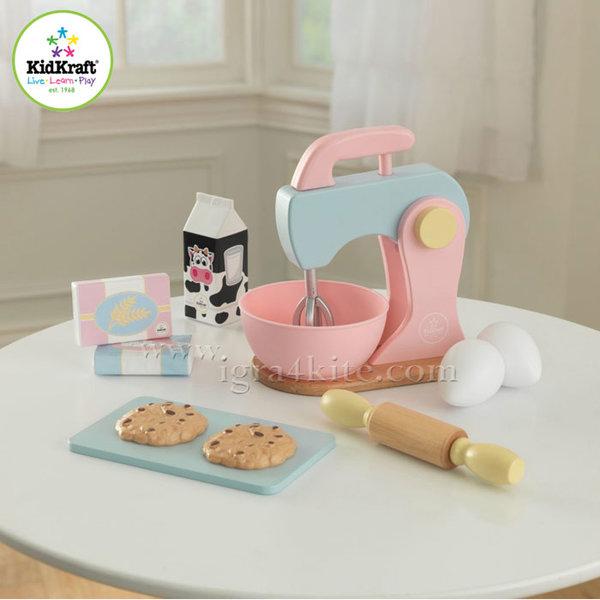 KidKraft - Детски комплект за печене Espresso Pastel 63371