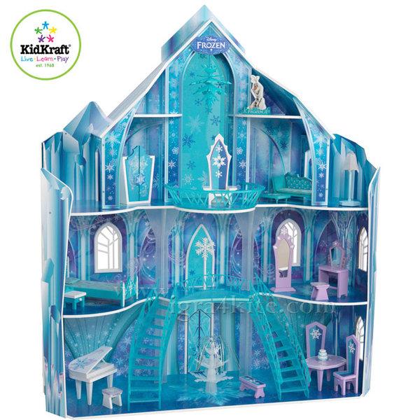 KidKraft - Disney Frozen Куклена къща Замръзналото кралство 65880