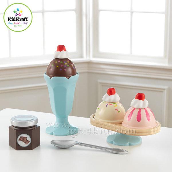KidKraft - Детски комплект за сладолед 63456