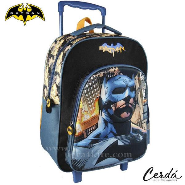 Batman - Ученическа раница тролей 3D Батман 1997