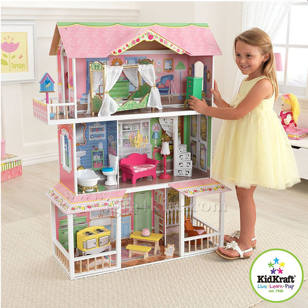 KidKraft - Куклена къща Sweet Savannah 65851
