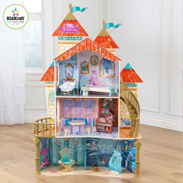 KidKraft - Disney Princess Куклена къща Морския замък на Ариел 65939