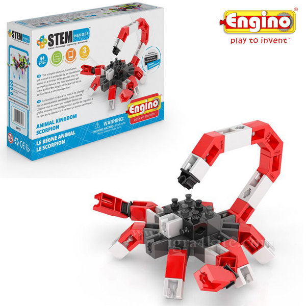 Engino - Конструктор Stem Heroes скорпион sh12