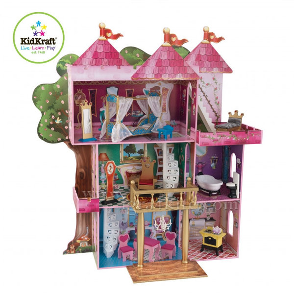 KidKraft - Куклена къща приказен замък 65878