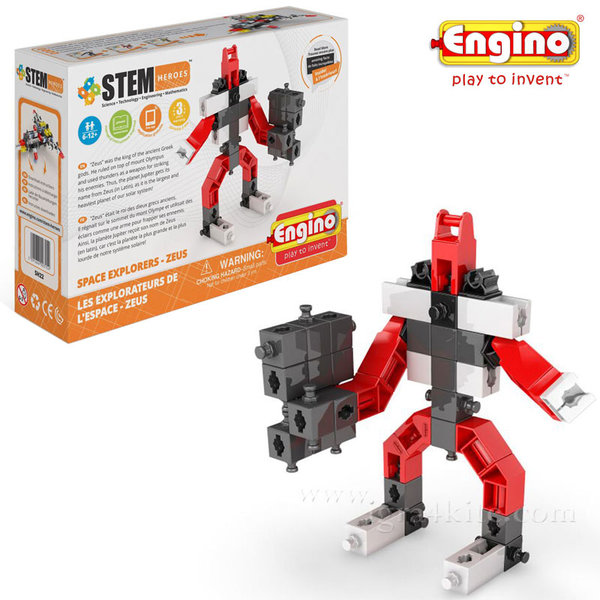 Engino - Конструктор Stem Heroes Зевс sh22