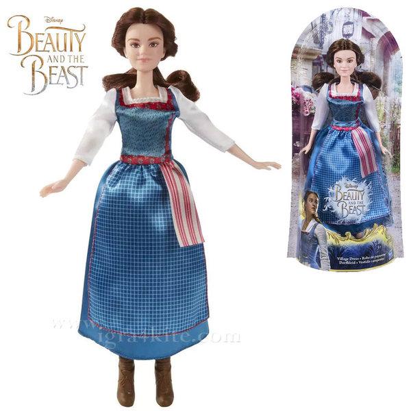Disney Princess - Красавицата и звяра Кукла Бел в синя рокля b9164