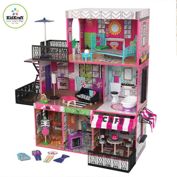 KidKraft - Куклена къща Бруклин 65922