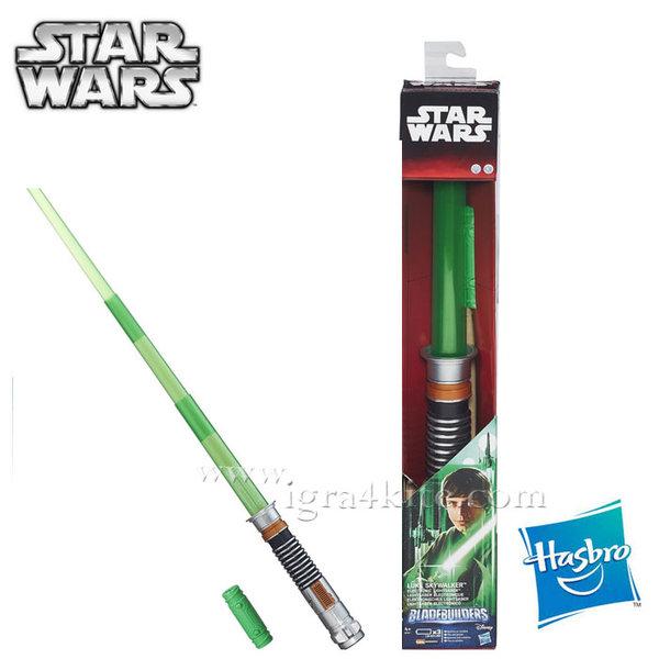 Hasbro Star Wars - Светлинен меч на Luke Skywalker B2919
