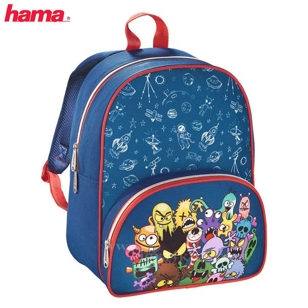 Hama - Раница за детска градина Monsters 139028